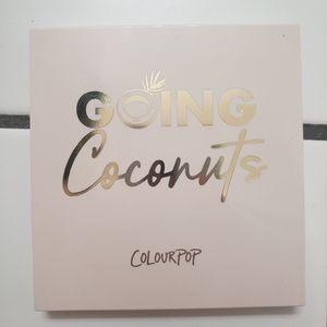 Colourpop Makeup - Colourpop Going Coconuts Palette